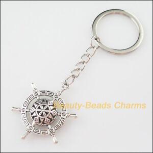 Key Charms Tibetan Silver  Qty 20 Pendants 32mm