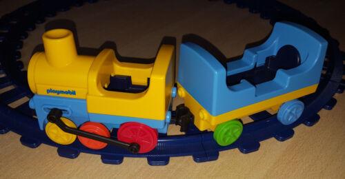 Playmobil 123   / Eisenbahn mit Schienen