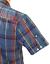 SALE NEW TOP JOLLY LUKE 1977 RETRO MOD CHAMBRAY CHECK SHIRT BLUE H174