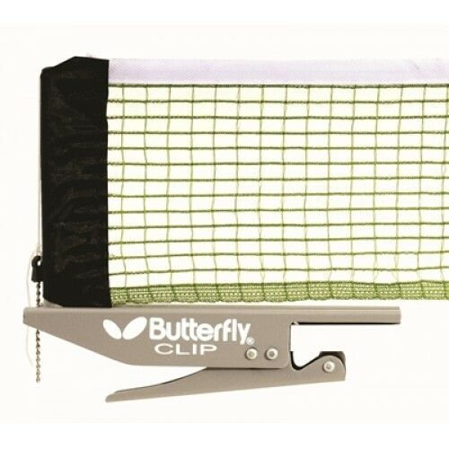 Butterfly CLIP Table Tennis Net&Post Set