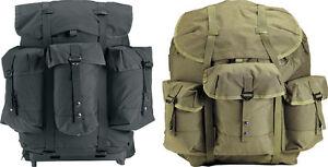 Image is loading Deluxe-Military-Enhanced-Nylon-Alice-Pack-amp-Frame- b35efc4ec58