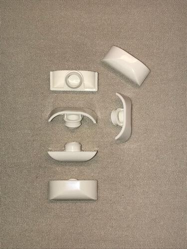 L/'eau Fente Bouchons SILISTO Eco 30 pcs noir pour PVC-Fenêtre avec trou 10 mm