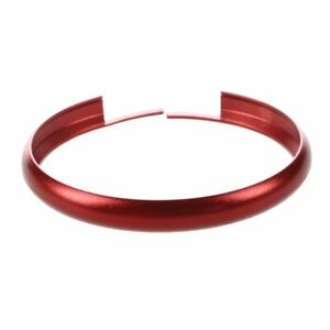 Car-Keyring-Trim-Ring-Rim-for-BMW-MINI-Roadster-Cooper-Clubman-S-KEY-B-Red-L4P1