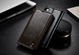 e79edd676 Luxury CaseMe Leather Wallet Case Stand Flip Cover for iPhone X 10 ...