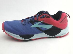 4eb09b1e532 Image is loading BROOKS-Cascadia-12-Trail-Running-Shoes-DNA-Purple-