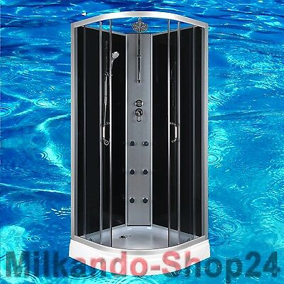 Duschtempel Fertigdusche Duschkabine Echt glas Komplett Dusche Wanne 90 X 90 !! Feines Handwerk