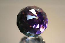 Swarovski Crystal Round Ball 60mm Paperweight 7404 NR 60 Helio Purple MINT