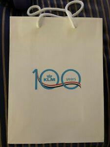 Klm-Real-Holandesa-Aerolineas-100th-Aniversario-Bolsa-de-Regalo