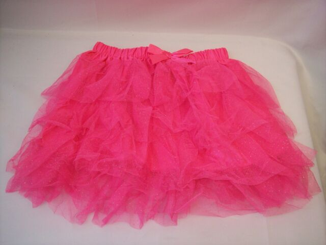one size Skirt Childrens Pink Sparkle