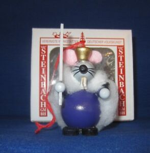 Steinbach-Wood-Ornament-Mouse-King-Nutcracker-Ballet-Germany-New-in-box