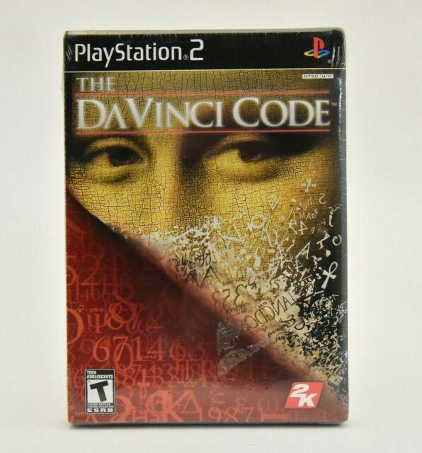 The Da Vinci Code PS2 NEW