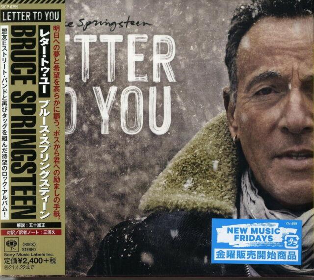 BRUCE SPRINGSTEEN-LETTER TO YOU-JAPAN CD F30