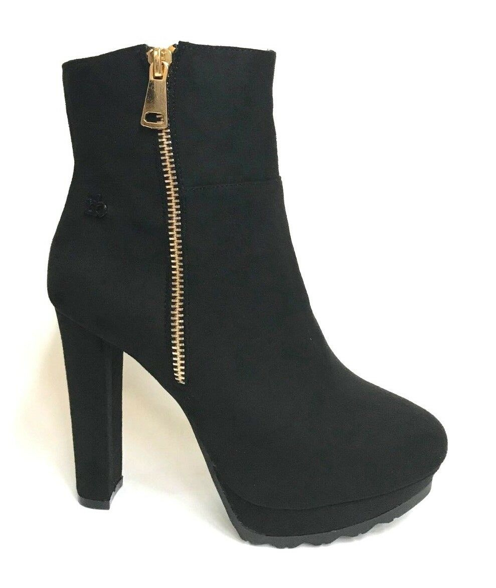 chaussures femmes ROCCOBAROCCO STIVALETTI TACCO ALTO FREY noir A I 2018 19 SCONTO 30%