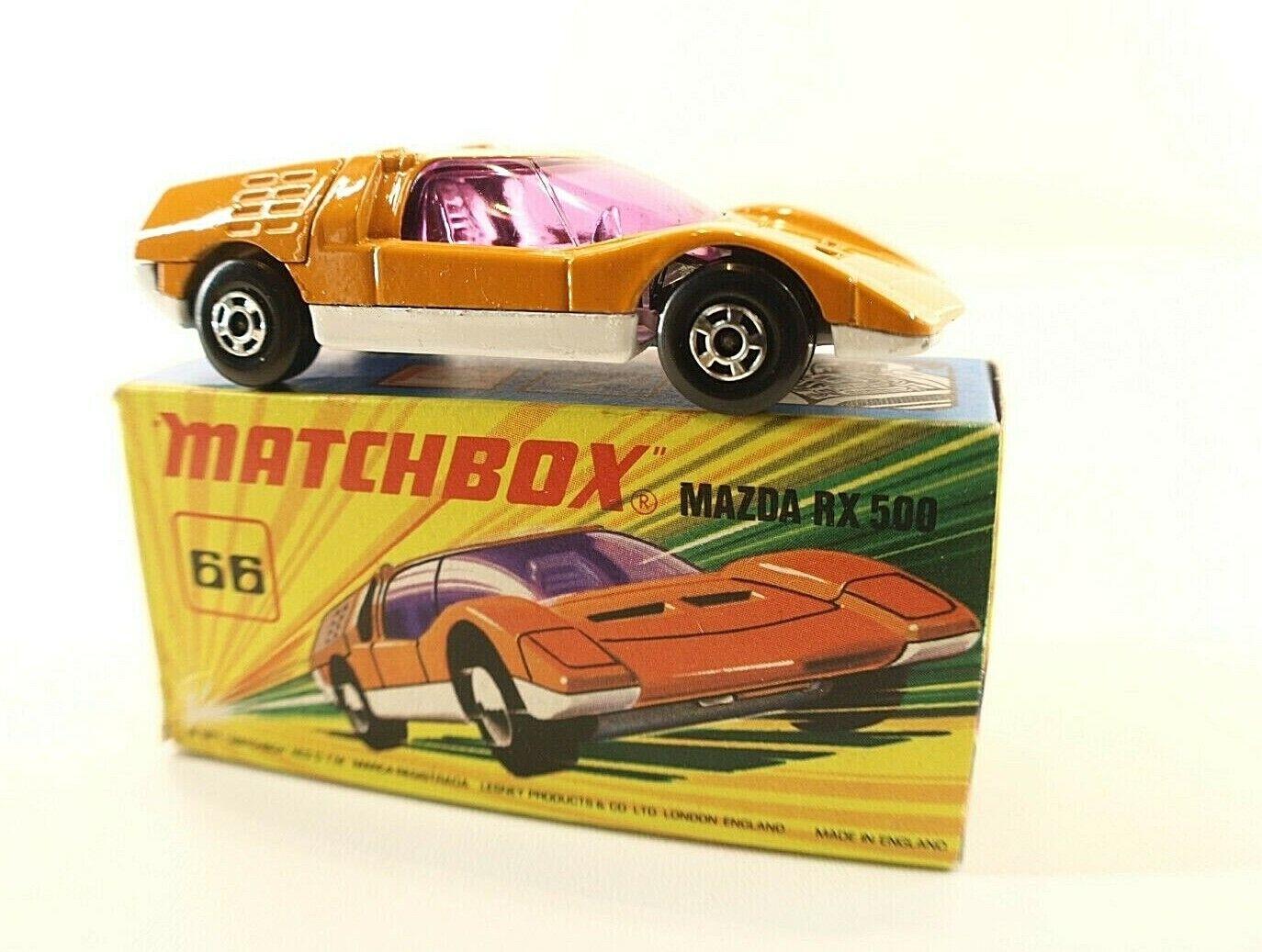 MatchBox Superfast New N° 66 Mazda RX500 neuf en boite MIB 1974