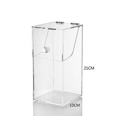 New Acrylic Dustproof Cosmetic Organizer Makeup Brush Storage Case Holder Box UK