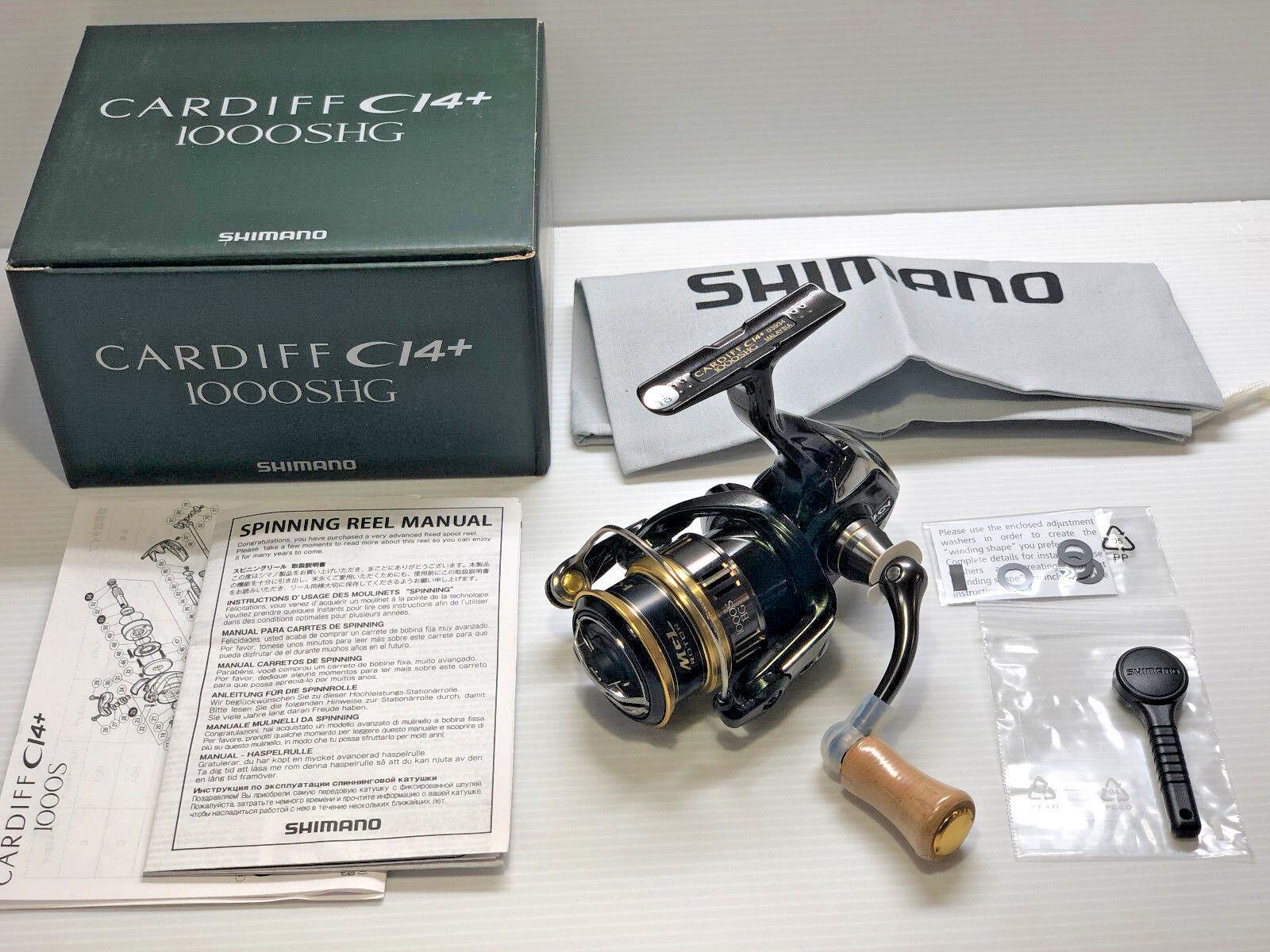 SHIMANO 18 CARDIFF CI4+1000SHG   - Free Shipping from Japan