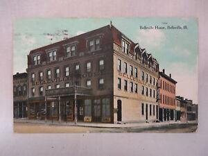 Image Is Loading Vintage Postcard The Belleville House Hotel In