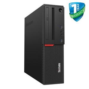 LENOVO-ThinkCentre-M700-SFF-Intel-Core-i3-6Th-generazione-8GB-RAM-500GB-HDD-PC-comportamentale