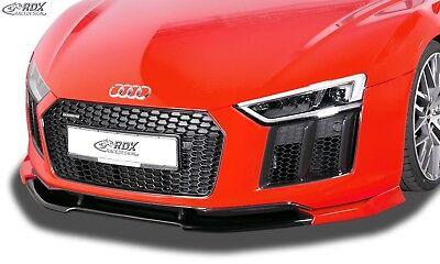 RDX Spoilerlippe für Audi R8 2015 Schwert Front Ansatz Splitter Spyder bis Bj