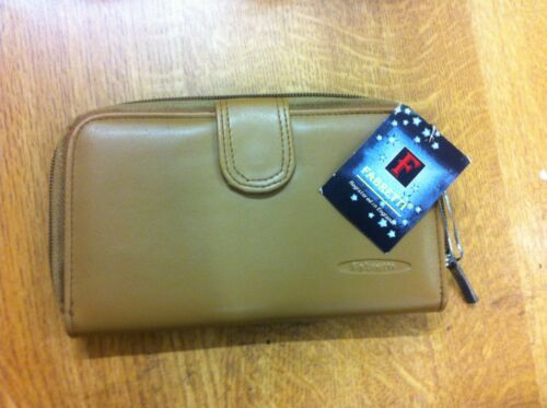 notes Ladies//Womens large PU Purse 4 COLOURS Fabretti 33348 cards coins