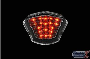 LED Tail Lights Smoke Lens for 2009-2017 Yamaha FZ6R