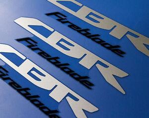 3x Cbr Fireblade Sticker Badge Decal Aufkleber Adesivo