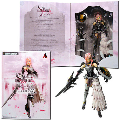 Final Fantasy 13 Play Arts Kai Action Figure - Lightning #01 - Square Enix