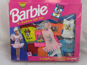 Vintage Barbie Mickey's Stuff Lot of 6 Complete Fashions Lot of 2 Different NIB