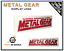 METAL-GEAR-SOLID-Display-Logo-pour-Collection-de-Jeux-Videos-Retro-Gaming-Geek miniature 1
