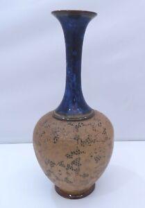 Antique Doulton Lambeth stoneware vase-afficher le titre d`origine shrNESso-09155128-339893376