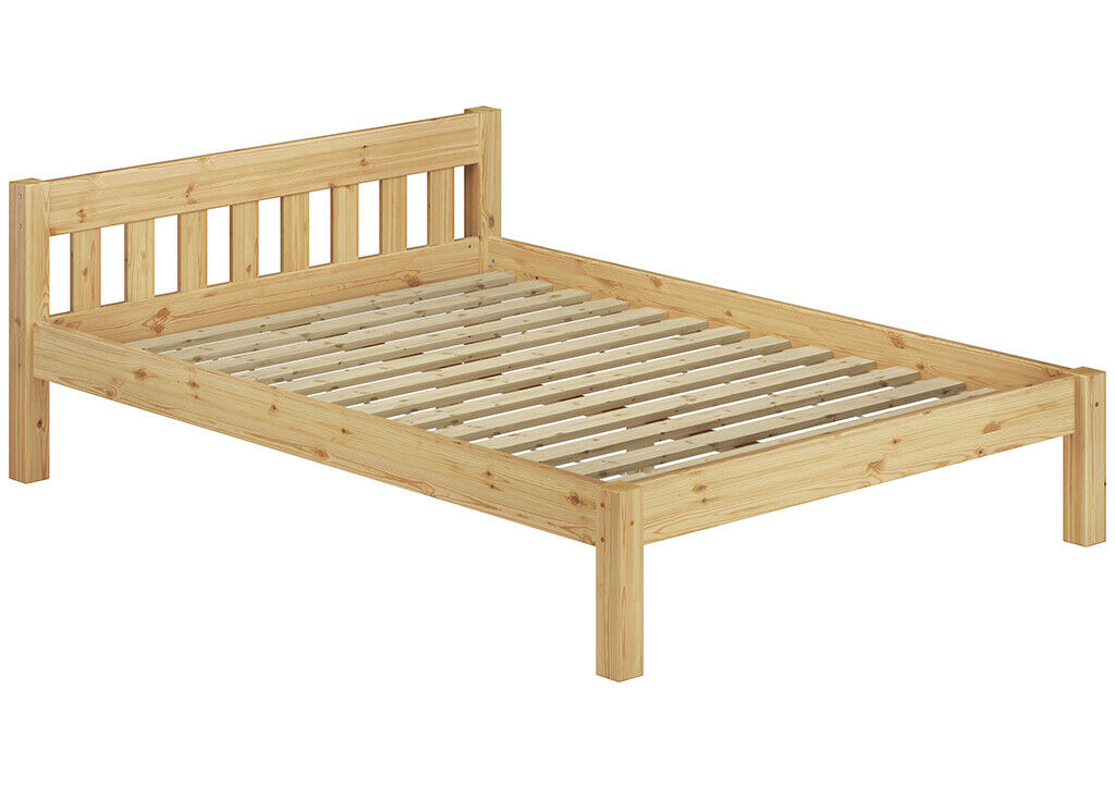 Détail de lit pin bois massif-lit 120x200 CM, adolescent avec rollrost 60.38-12
