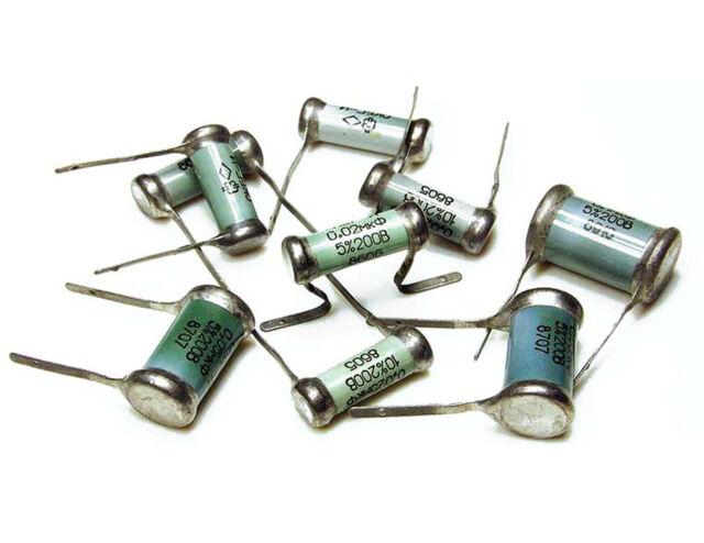 0.1uF  10/% 200V OKBG-I KBG-I  PIO Capacitors   NOS in BOX   Lot of 10