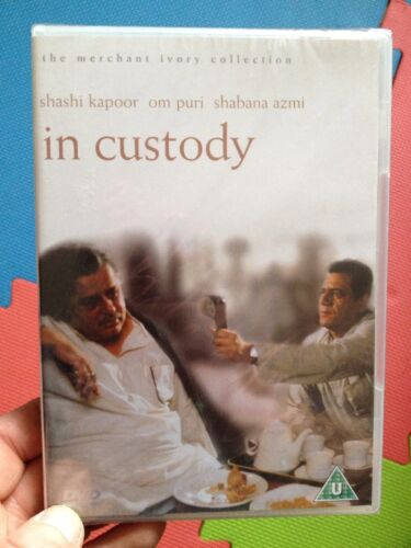 1 of 1 - In Custody-Merchant Ivory(R2 DVD)New+Sealed Om Puri Shashi Kapoor