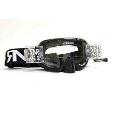 Rip N Roll Motocross Enduro MX Híbrida completamente cargada Gafas rnr XL-Negra