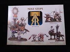 Warhammer AoS Slaves to Darkness Sylath's Warhost Warscroll Battalion Sheet