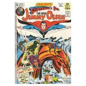 Superman-039-s-Pal-Jimmy-Olsen-1954-series-144-in-Fine-condition-DC-comics-dr
