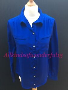 Pyrus-Cailin-Silk-Shirt-in-either-Emerald-Cobalt-or-Flamingo-RRP-170-BNWT
