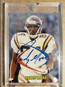 1998-Collector-039-s-Edge-Randy-Moss-SP-Rookie-Prodigies-Autograph-RC-Auto