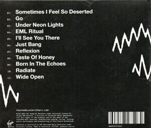 CHEMICAL-BROTHERS-Born-In-The-Echoes-CD-Brand-New-Still-Sealed
