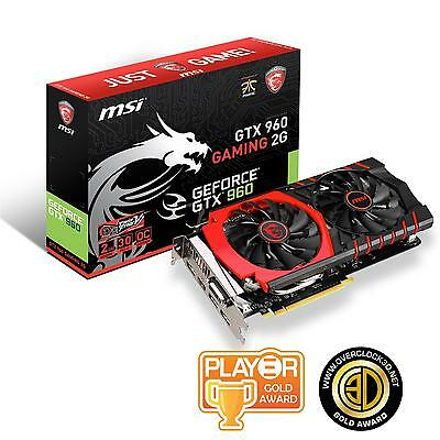Open Box - MSI Nvidia GeForce GTX 960 GAMING 2G PCI-Express Graphics Card