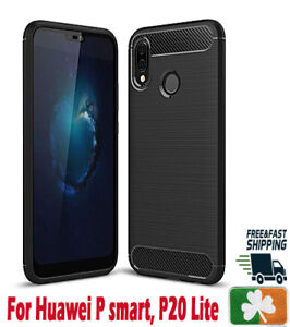 Brand-NEW-Rugged-Case-For-Huawei-P-Smart-P20-P30-P40-Y6-Carbon-Fiber-Design