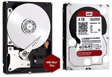 WD Red Pro 4TB NAS Desktop Hard Drive Intellipower 6 GBs 64 MB Cache WD4001FFSX