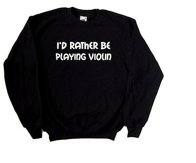 I/'d Rather Be Playing Saxophone Sweatshirt