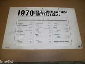 image is loading 1970-ford-bronco-econoline-van-p-series-wiring-