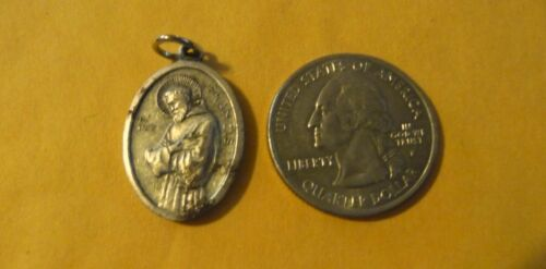 Vintage Catholic Religious antique Holy Medal unidentified medal #164