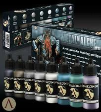 Scale 75 SCL-SSE-009 Scale Color- Metal And Alchemy Steel Series Paint Set