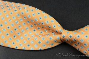 NWT - LUCIANO BARBERA Multi-Color Geometric 100% Silk Mens Luxury Tie - 3.50""