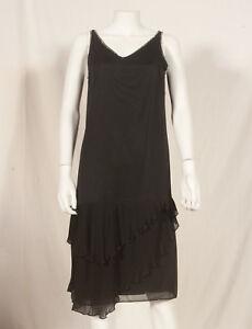 Annees-60-Francais-Vintage-robe-de-soiree-UK-10