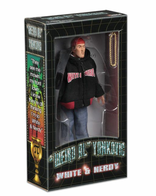 WEIRD AL YANKOVIC Figur 20cm Weiß and NERDY Action Figure Neca Real Kleidung