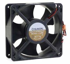 for SUNON KDE1212PMB3-6A 12V 3.2W 12038 12CM Three-Wire Cooling Fan